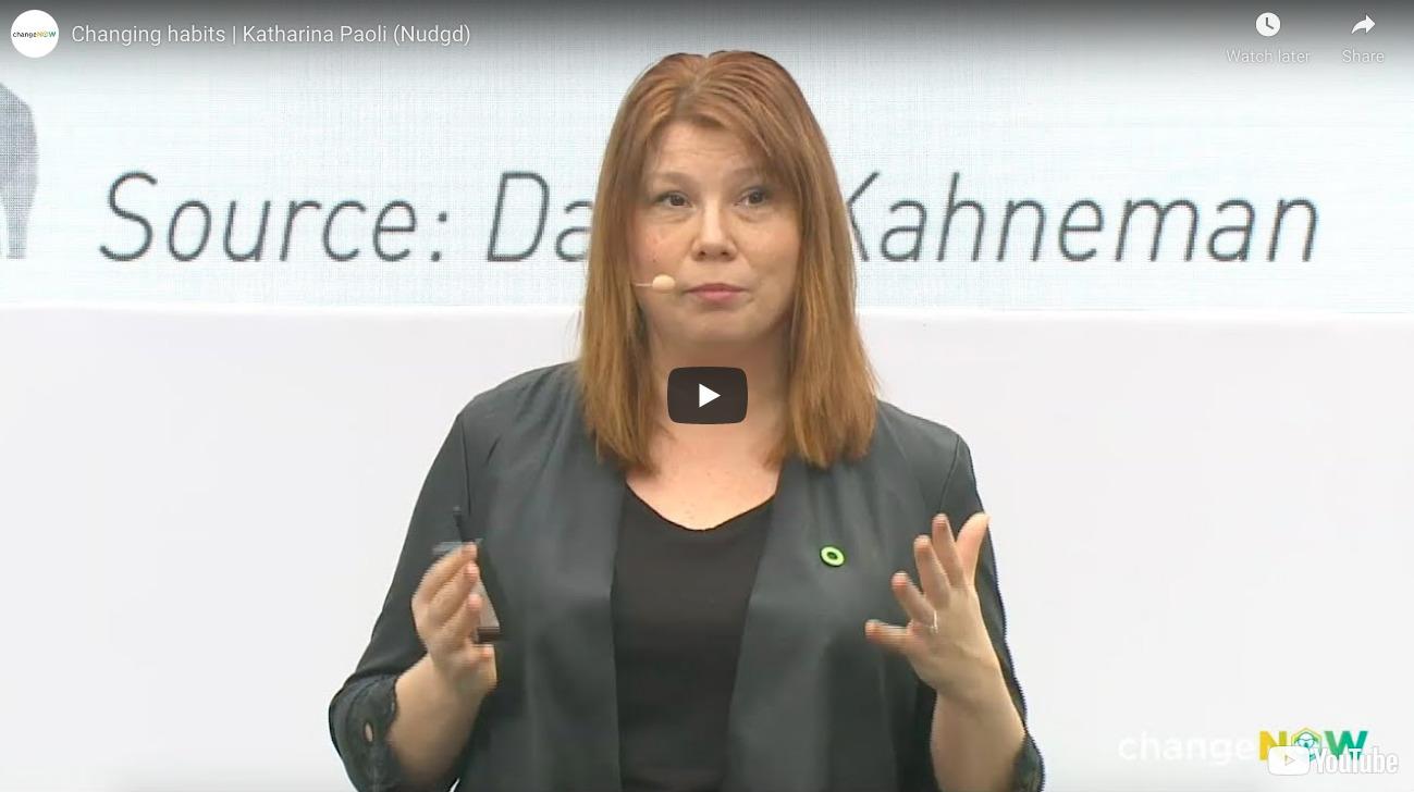 Video Changing Habits - Katharina Paoli Nudgd - Change Now